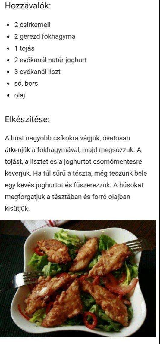 házi szakács fogyni