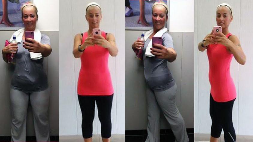 40 kilós fogyás nő