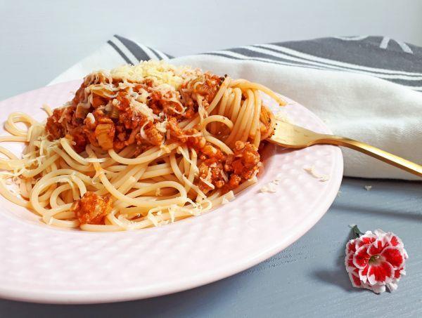 fogyás spagetti bolognai)