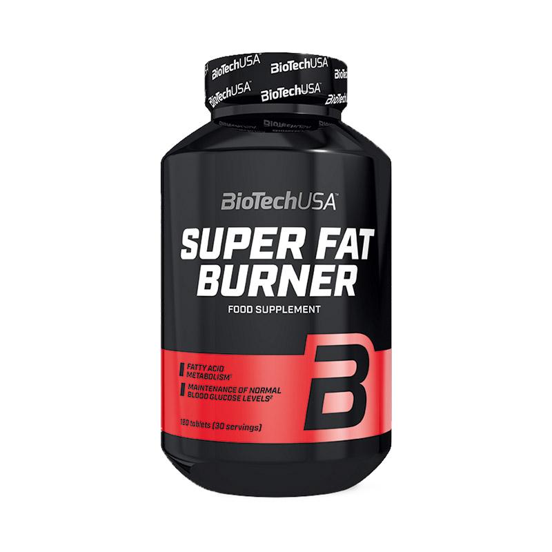 BioTechUSA Super Fat Burner - 120 caps