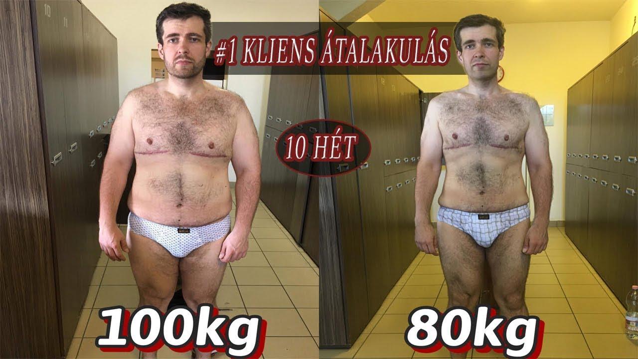 30 napos súlycsökkenési átalakulások