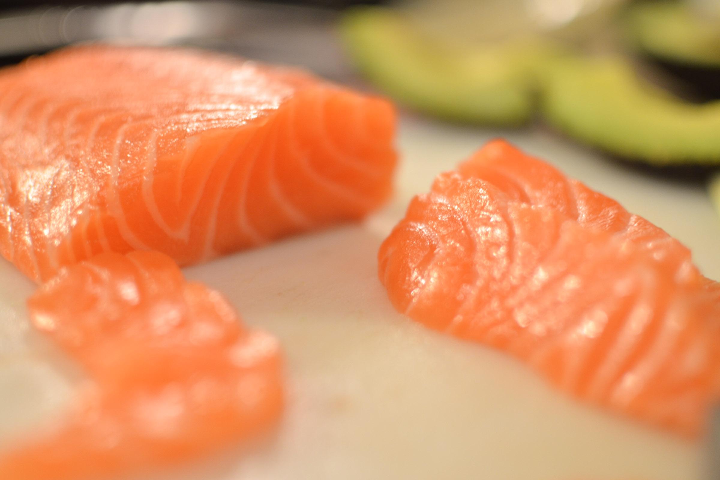 Fogyás sashimi