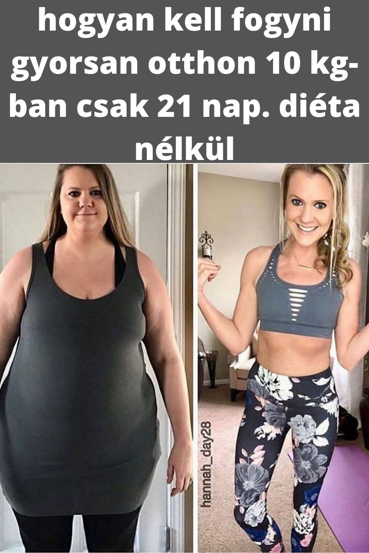 Így fogyhatsz 8 kilót 7 nap alatt! Mutatjuk a mintaétrendet!