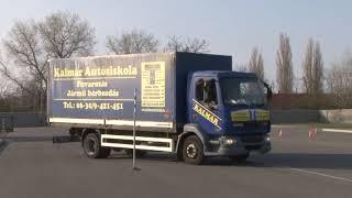 fogyni vezetés teherautó