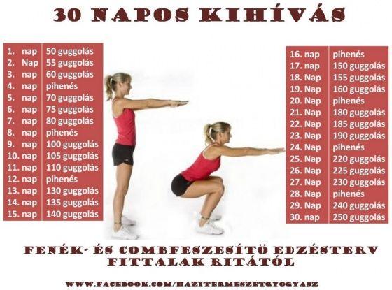 30 napos 20 font súlycsökkentő kihívás)