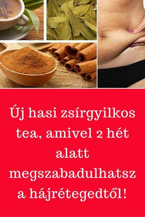 hasi zsír fogyás tea