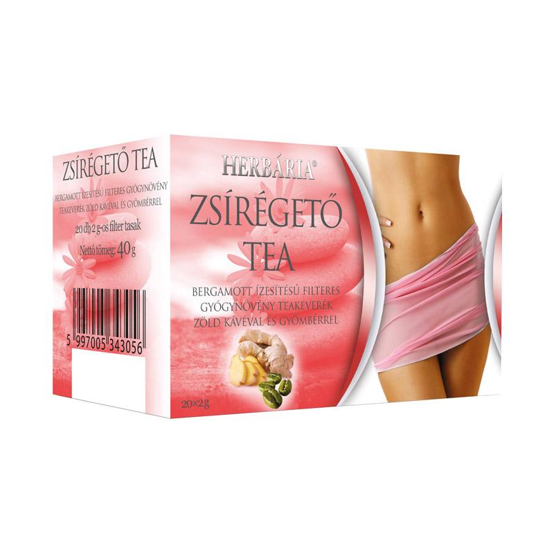 vékony tea zsírégető keverék