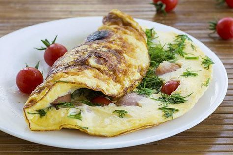 egészséges fogyás omlett