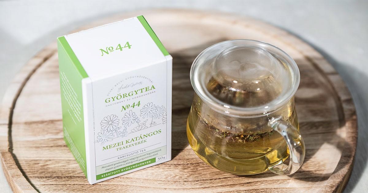 Györgytea Mezei katángos teakeverék (Karcsúsító tea) 50g - E