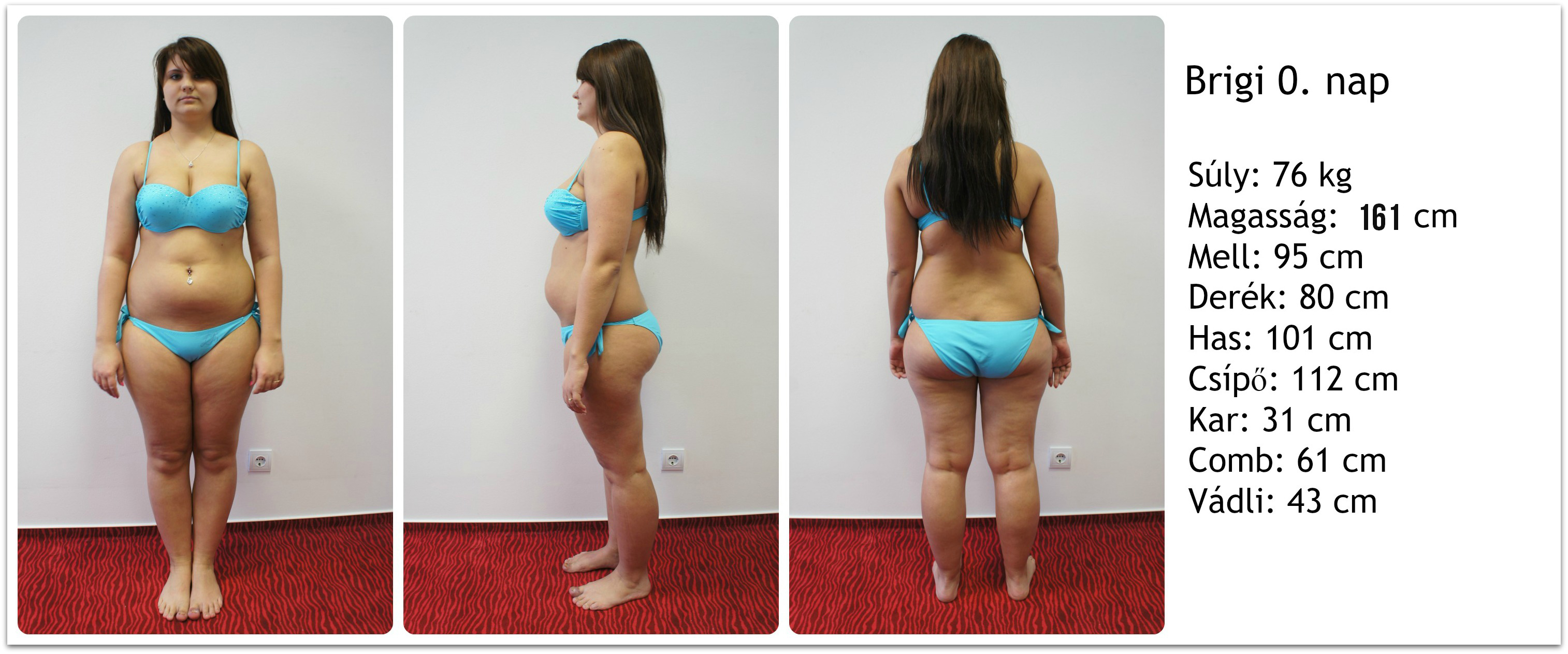 42 kg fogyás előtt és után)