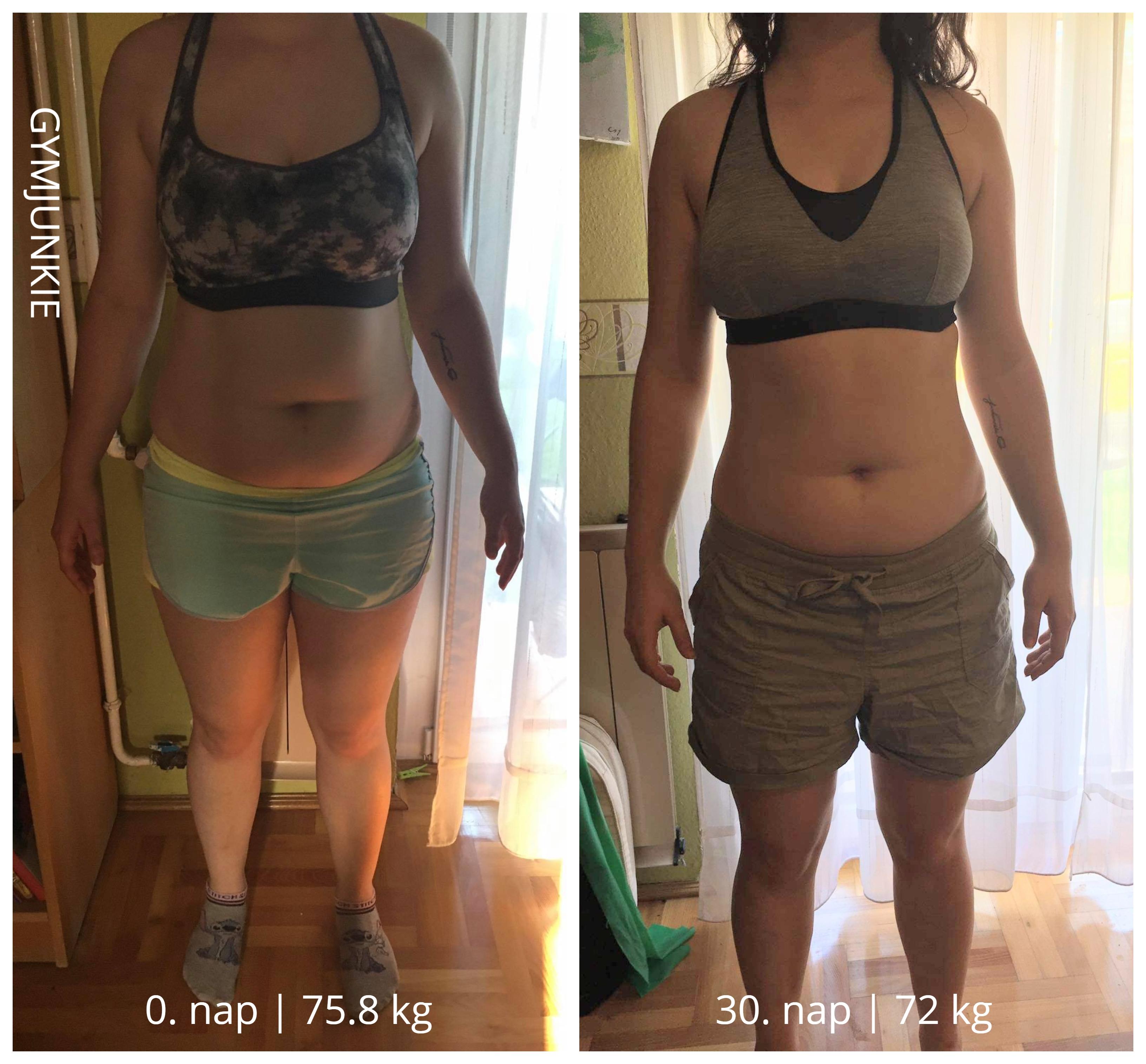 súlycsökkenés 4 hónap előtt és után hogyan lehet elveszíteni kar kövér nő