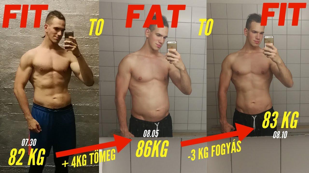 86 kg fogyás