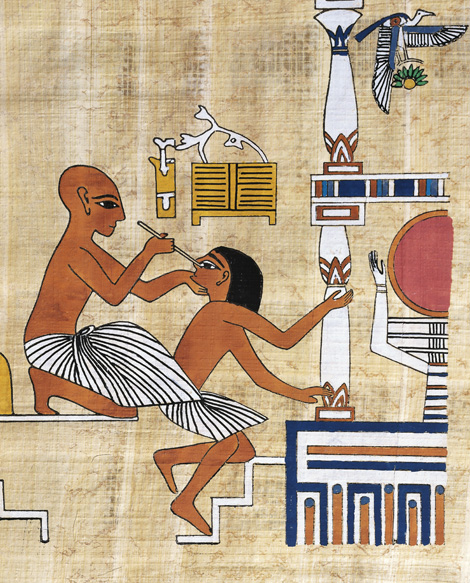ősi egyiptom fogyás