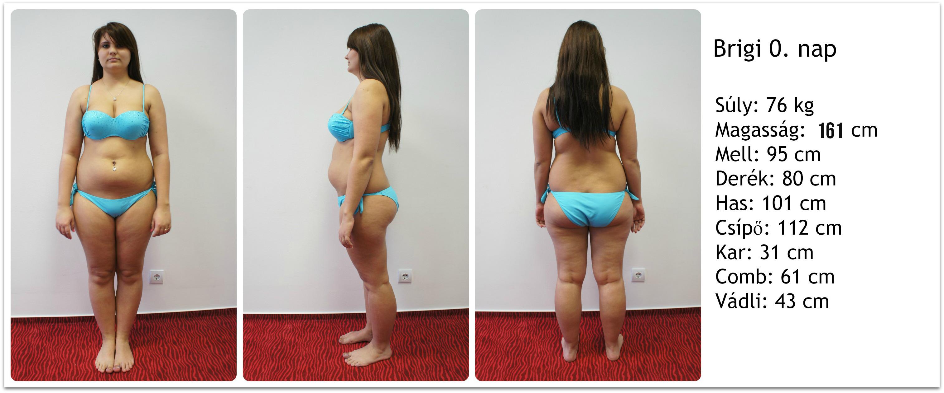 fogyás 10 kg előtt és után)