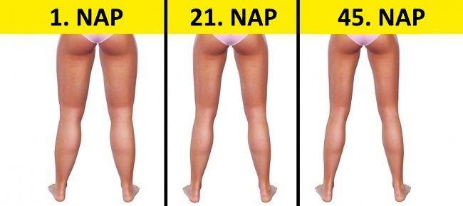 3 perc lefekvés előtt: Egyszerű gyakorlatok a karcsúbb lábakért