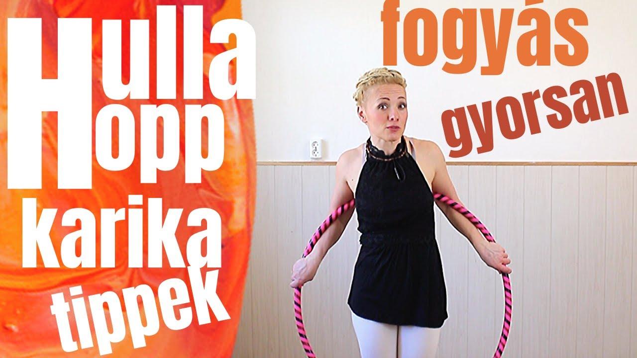 hogyan lehet fogyni hula karika