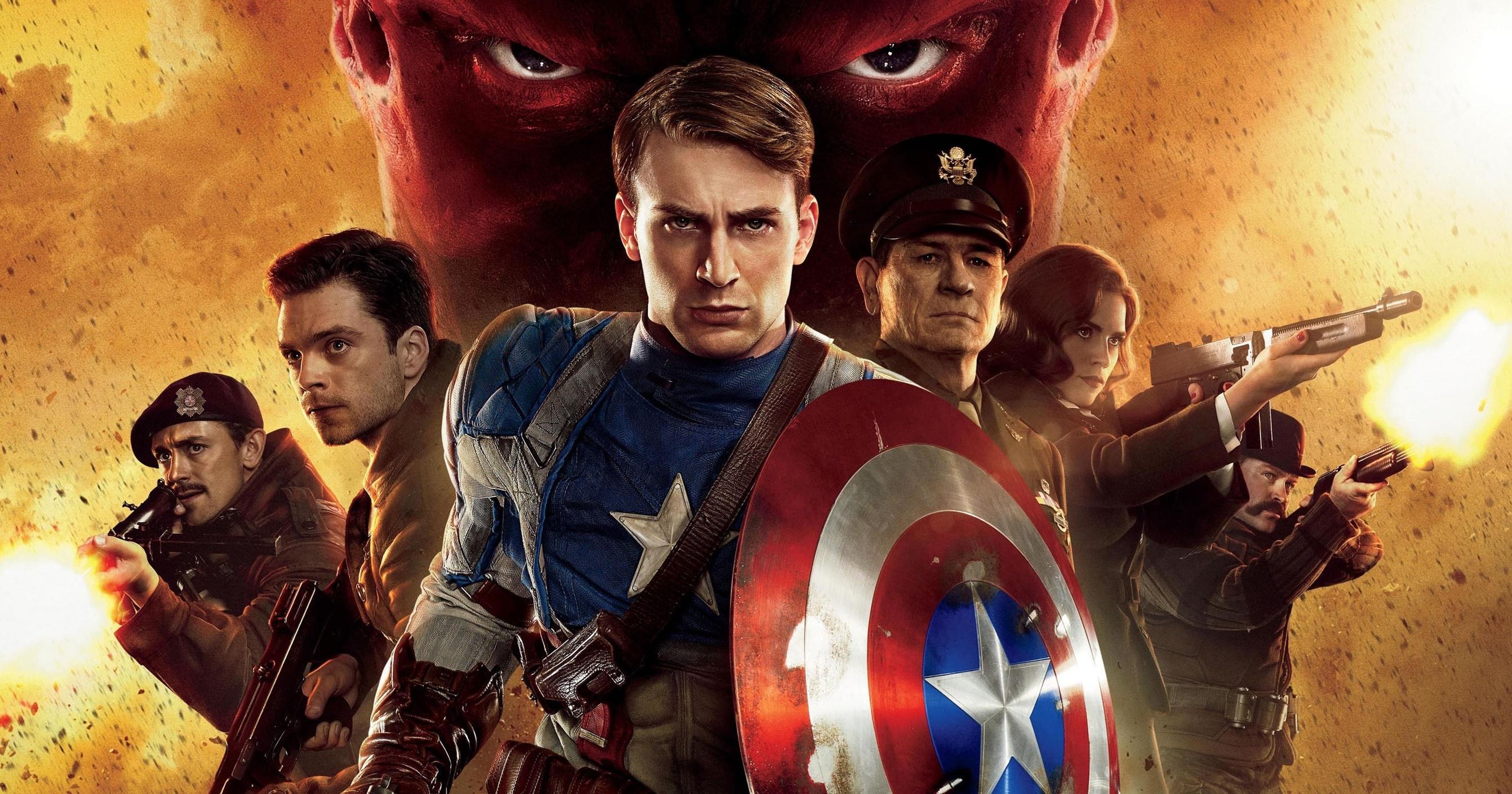amerikai kapitány első bosszúálló fogyás