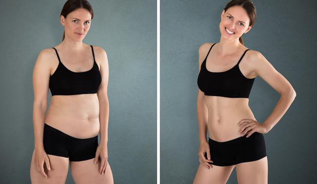 teljes test vs osztott fogyás)