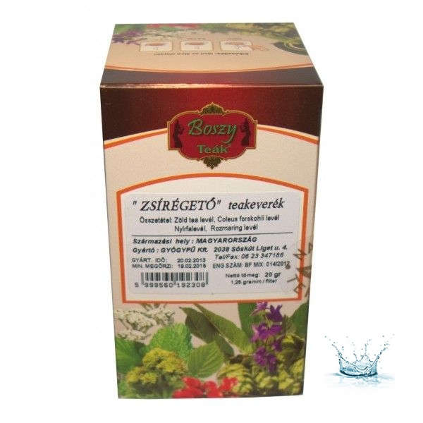 zsírégető keverék vékony tea)