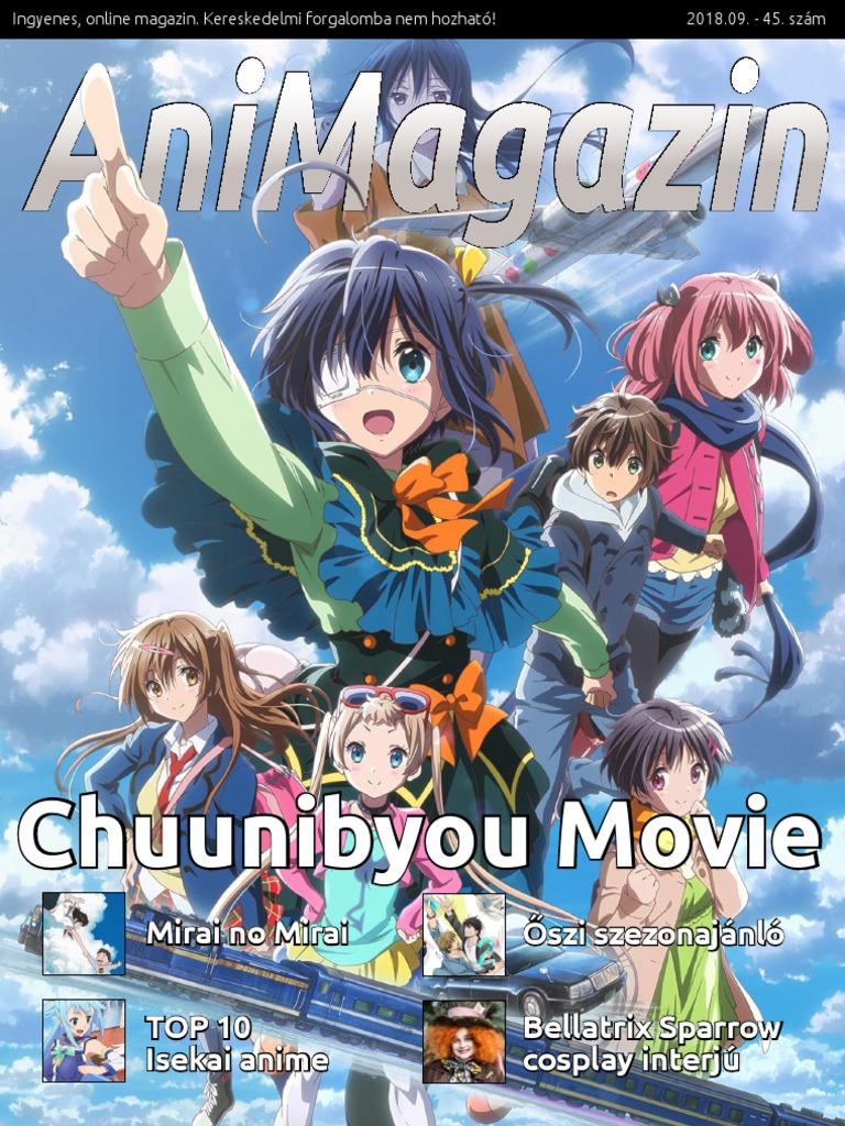 anime, ahol a karakter lefogy)