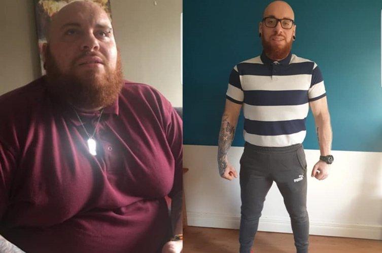 24 éves férfi fogyás