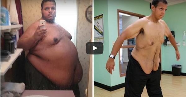 férfi fogyás előtt és után