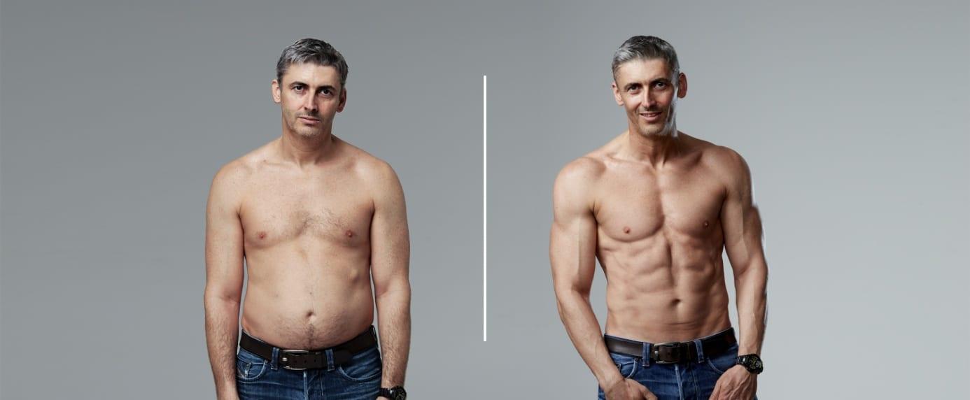 egészséges arány a testzsír csökkentésére