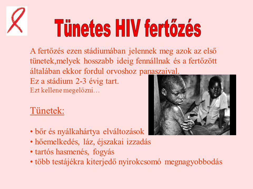 hiv pozitív és fogyás