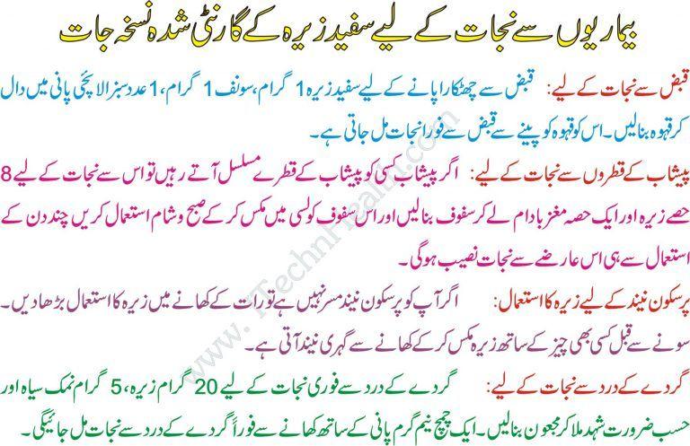 jeera pani az urdu fogyásért)