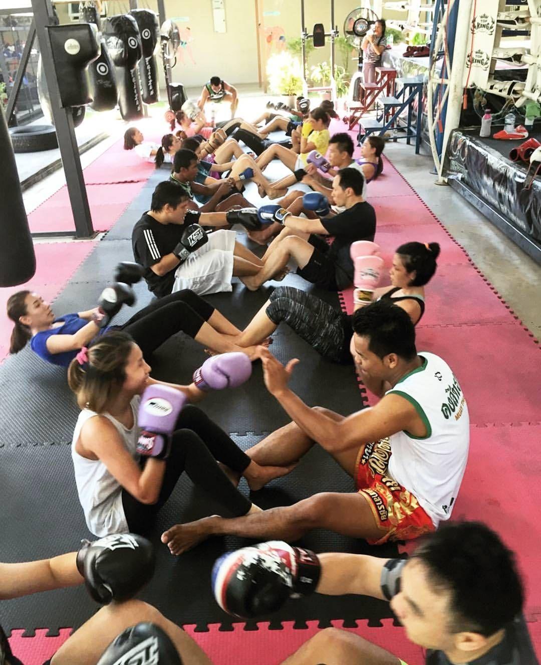 muay thai fogyás