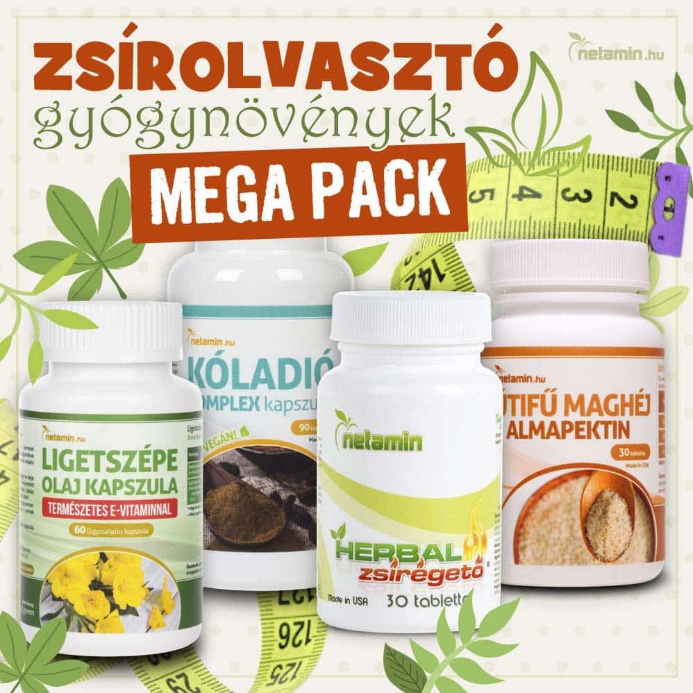 természetes gyógynövények, amelyek gyorsan zsírégetnek