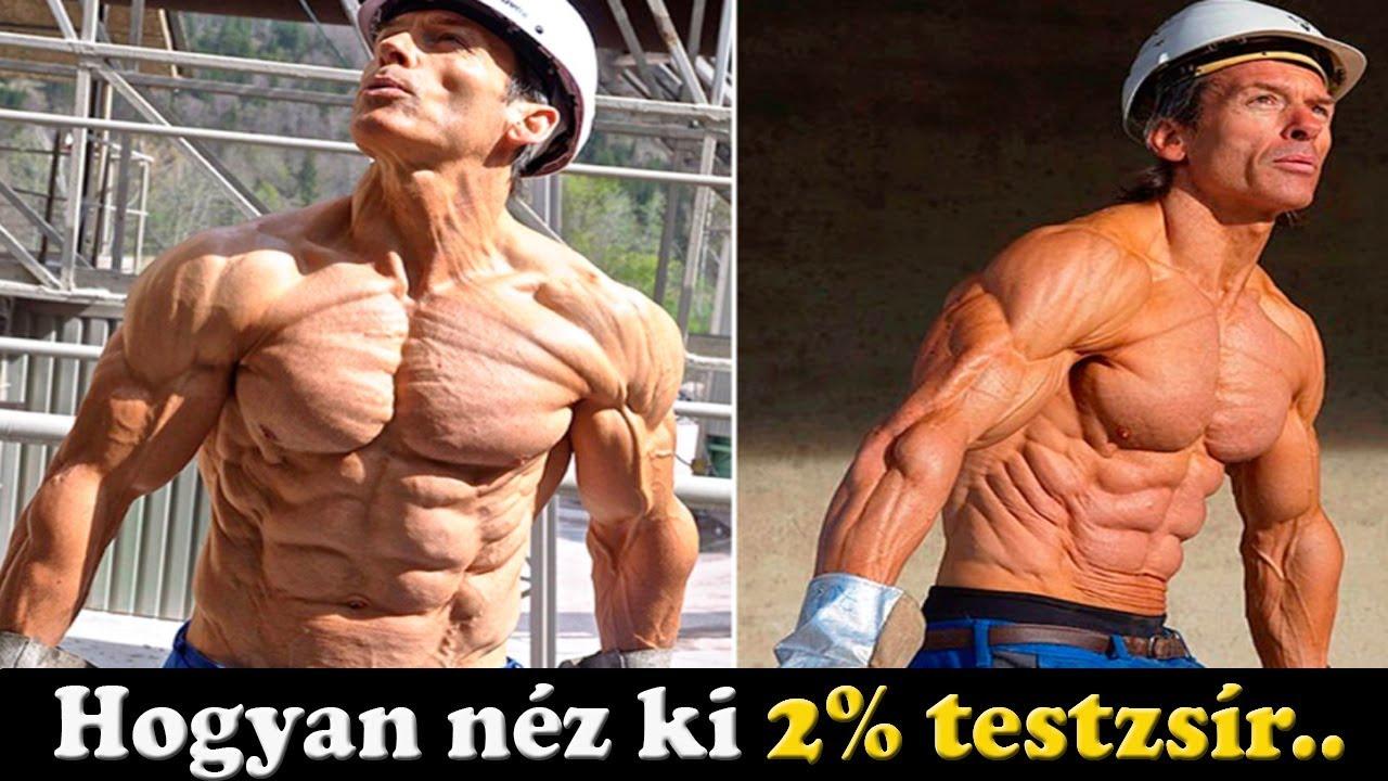 zsírvesztés emberi test)