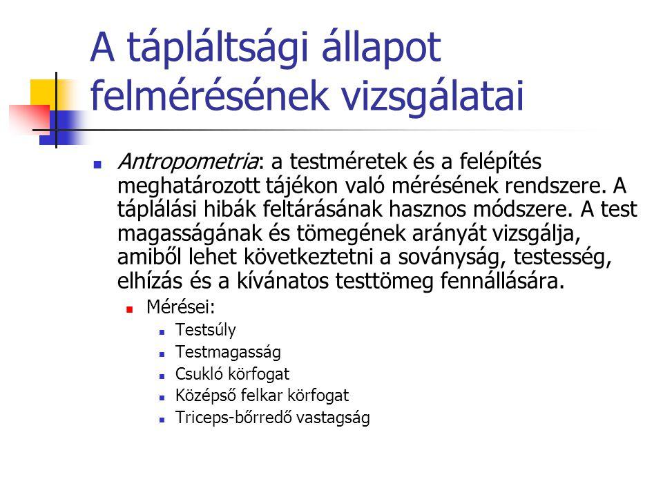 testsúlycsökkentő testméretek)
