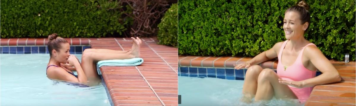 Hogyan éget zsírt a medencében -