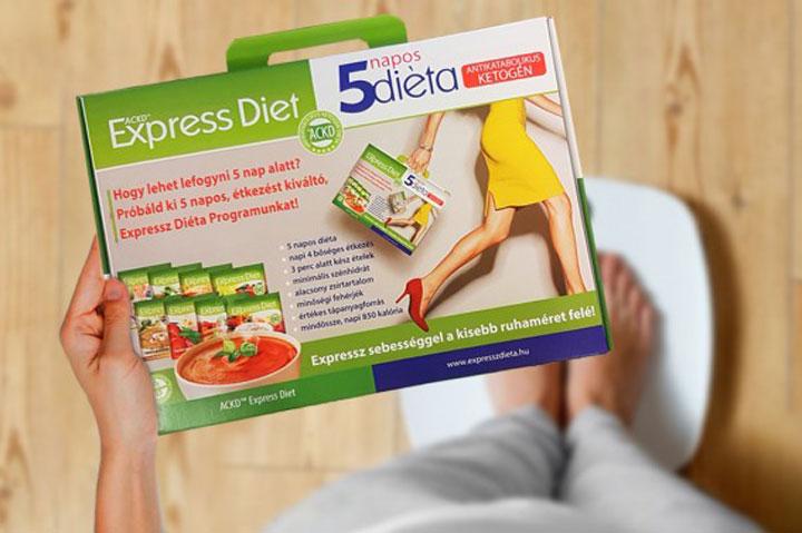 Expressz fogyás: 3 nap, mínusz 3 kiló