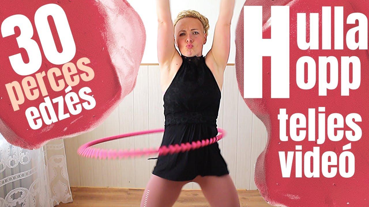 Hulahopp karika tanulás és zsírégetés - feszes popsi edzés gyakorlatok kezdőknek - YouTube